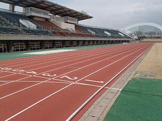 長野運動公園 陸上競技場